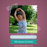 Desarrollo infantil 48 meses