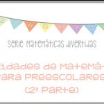 acts matematicas preescolares 2a parte mimamadice